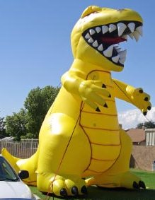 giant balloon - 25 ft. Zilla monster